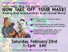 Feb 2019 – Unmasking Your Relationships PlayShop Flyer